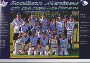 Southerm Mariners Vic Champs 2015